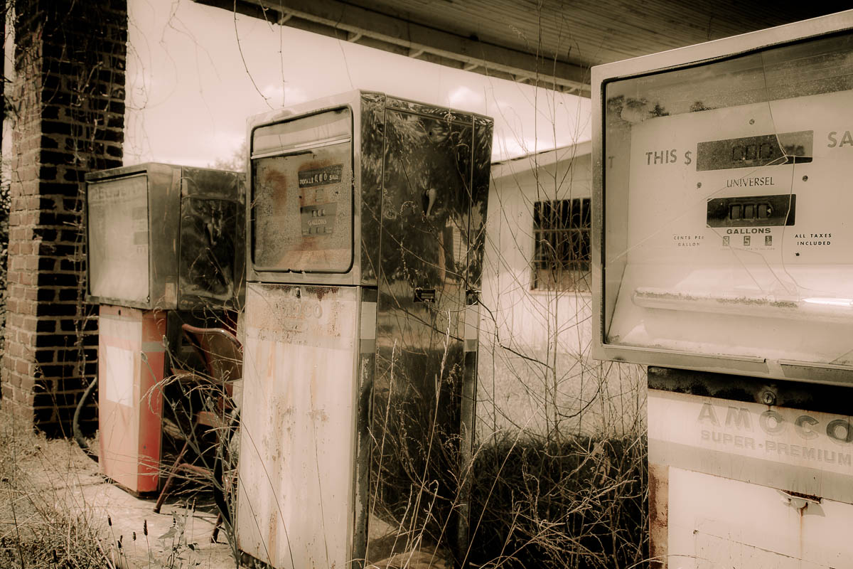 The Gas Station near the House of the Sons of Medusa