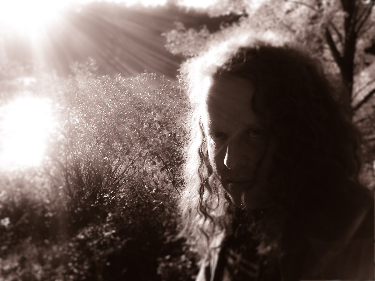 Self-portrait: Enshadowed