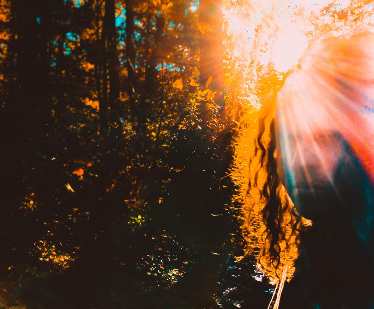 Self-portrait: Sun on Earth