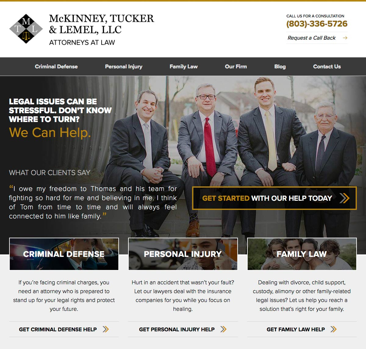 McKinney, Tucker, & Lemel Law Firm